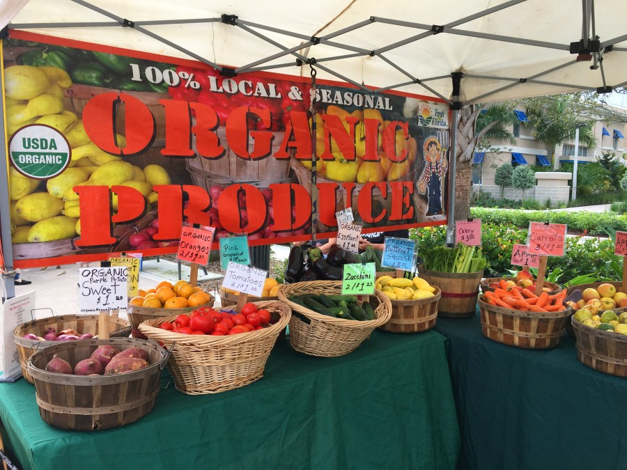 Organic Grown Direct now at the Coral Springs Farmers' Market