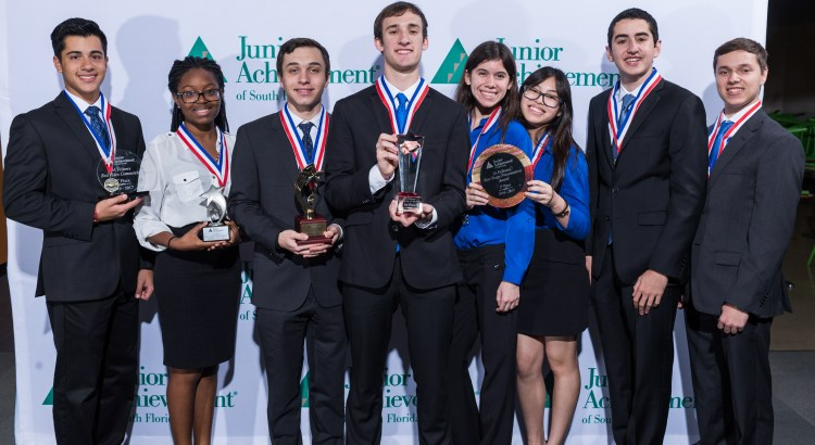 Local Students Win Junior Achievement's Coveted Company of the Year