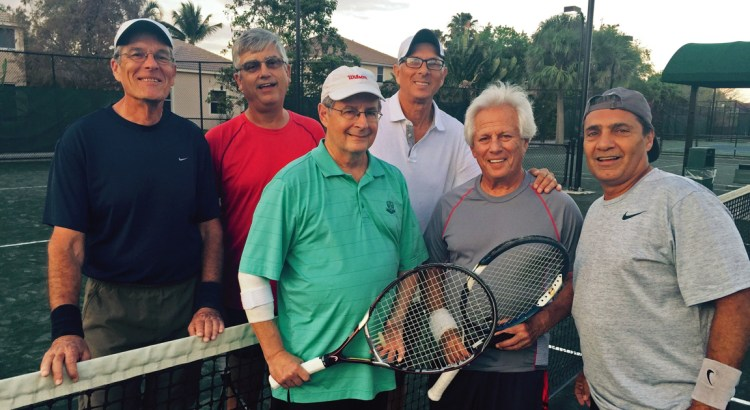 Coral Springs Tennis Center Wins Against Parkland in Senior League Championship