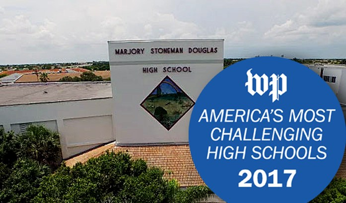 "Local High Schools Make 2017 ""America's Most Challenging Schools"" List"
