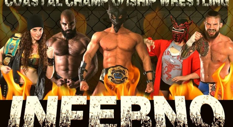 """Every Title on the Line"" at Live Professional Wrestling Inferno Event"