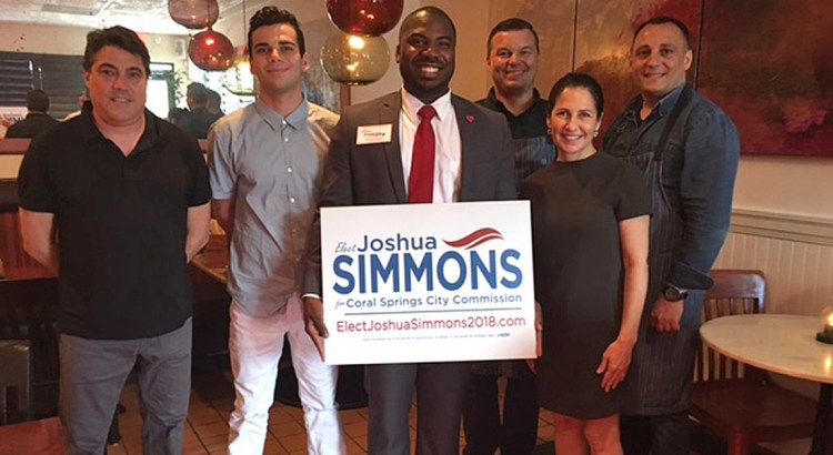 Coral Springs City Commission Candidate Holds Campaign Kick-off Celebration