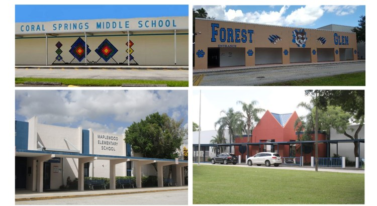 Four Coral Springs Schools Recognized as Five Star Schools