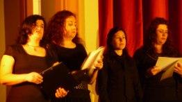 Mónica, excelente solista del Magnificat.