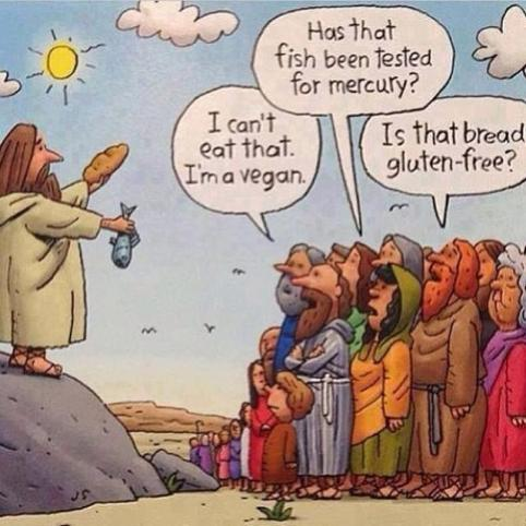 Gluten Free Cartoon
