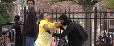 We loved the actions (not her language) of this Baltimore Mom