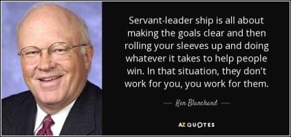 Ken Blanchard on servant leadership