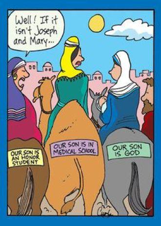 Mary Son of God cartoon