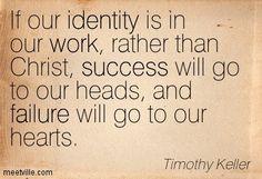 Tim Keller Quote