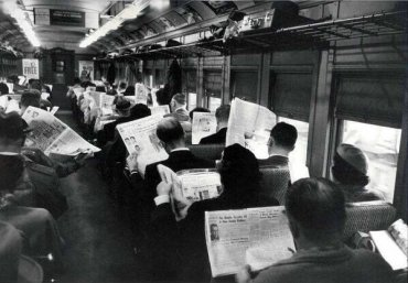 All this technology is making us anti-social. Burk Parsons