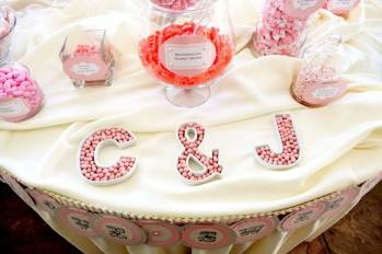 Love Sweet Love Candy Buffet and Favors