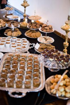 Dessert Table with treats from Los Poblanos