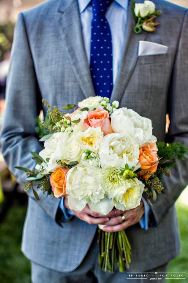 The Groom with the Bouquet