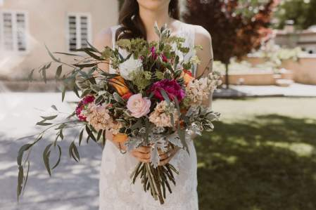 Colorful Unstructured Bouquet