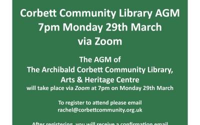 Corbett Community Library AGM
