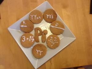 Entry 1 - Pi Biscuits