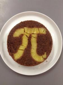 Pi-napple Upside Down Cake