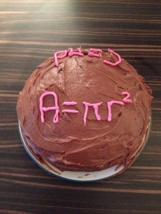 Entry 34 - Area of a Circle Cake