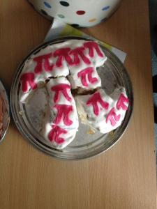 Entry 36 - Pi Cake