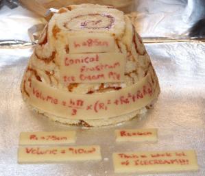 Entry 3 - Conical Frustum Ice Cream Pie