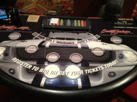 Mandalay Bay Barrett-Jackson Blackjack Table Felts