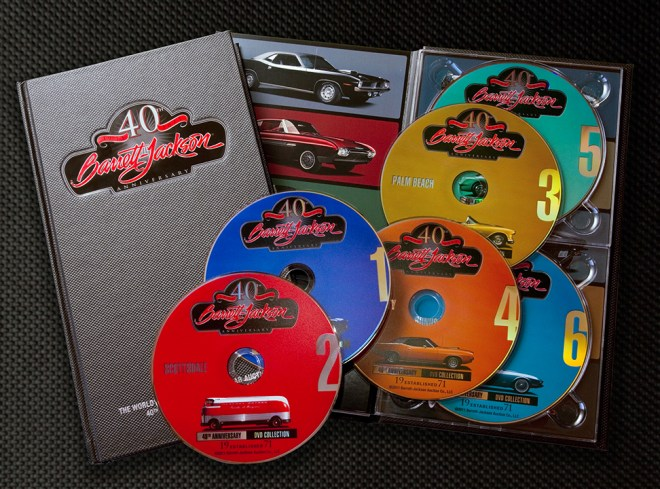 Barrett-Jackson 40th Anniversary DVD Set