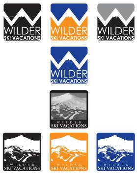 Wilder Ski Vacations Logo - designed by Corbin Snyder