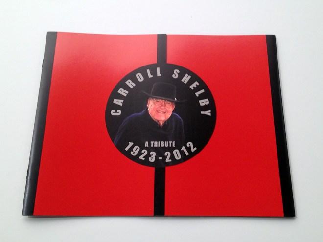 Carroll Shelby Tribute Brochure