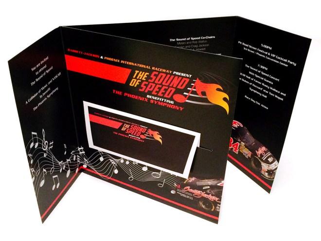 Phoenix Symphony, Sound of Speed Invitation