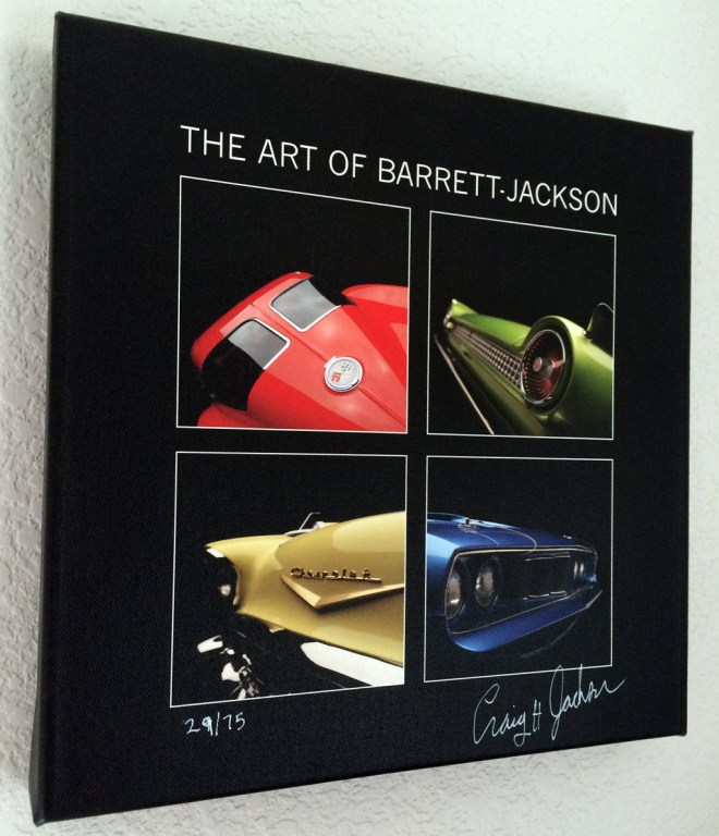 The Art of Barrett-Jackson Giclee