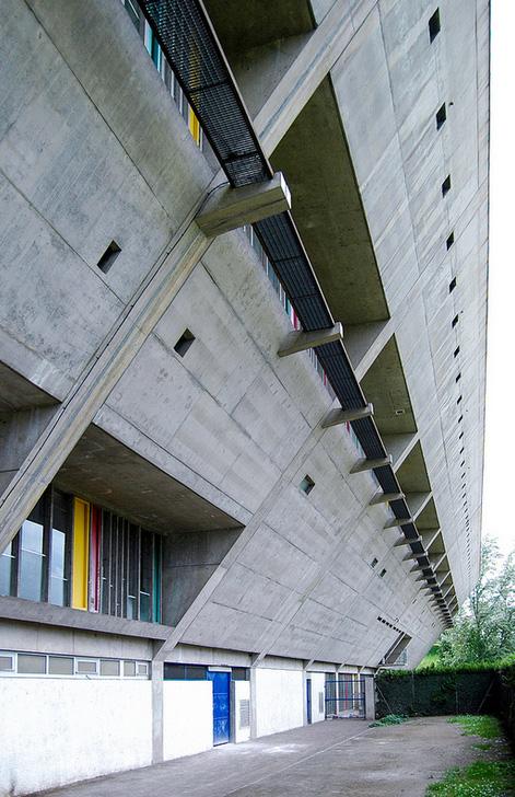 Дом культуры Фирмини (Maison de la culture de Firminy-Vert ...