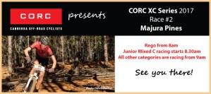 CORC XC Series 2017