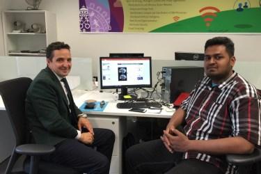 Gopinathan Rajamohan se une al grupo BISITE
