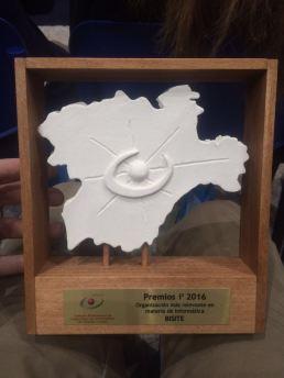 Premio a la Organización más relevante en materia de Informática