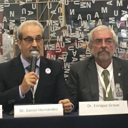 Daniel Hernández Ruipérez y Enrique Graue