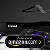 Roku 4 - Buy now on Amazon