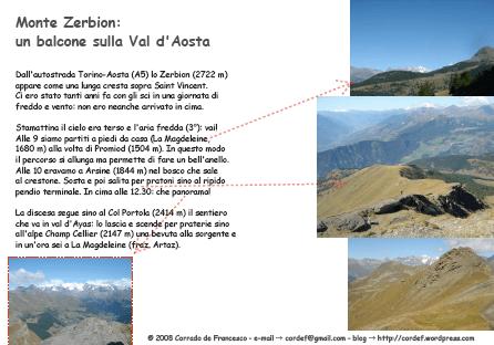 un balcone sulla val d'Aosta (e-card)