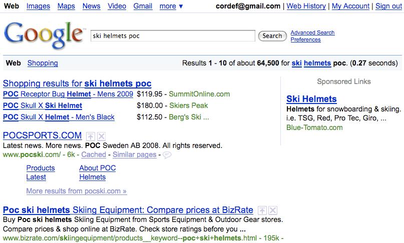 "Google > ""ski helmets poc"""