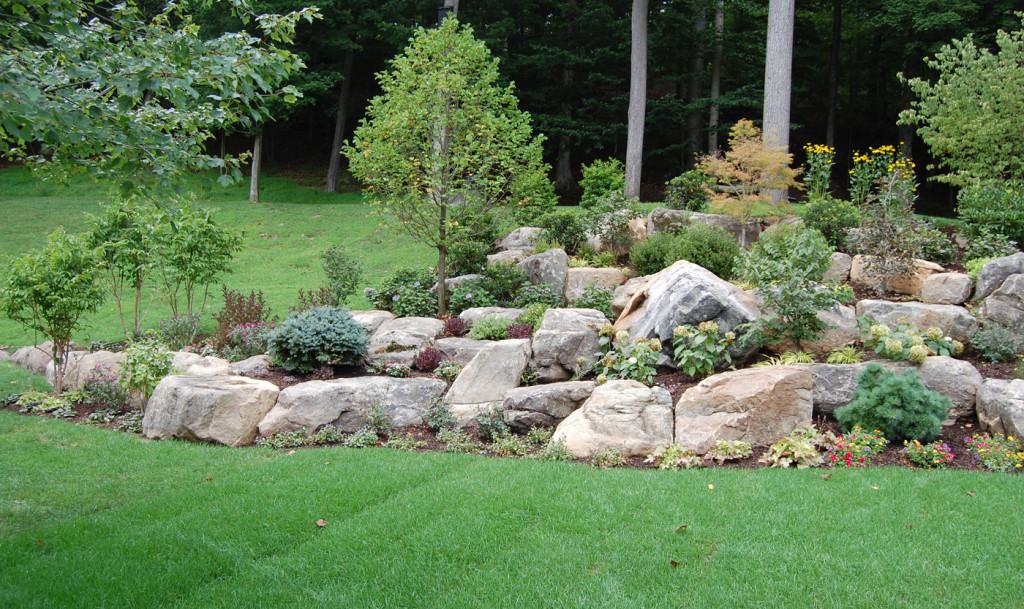Rock Gardens - Cording Landscape Design on Backyard Rocks  id=89674