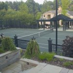 Tennis Court By Cording Landscape Design Cording Landscape Design