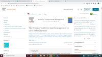 The future of resilience-based management in coral reef ecosystems