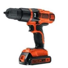 BLACK+DECKER 18V Lithium Ion 2 Gear Hammer Drill