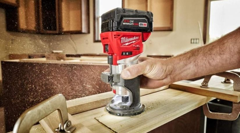 Best cordless router used by a woodworker to cut channels in a wood