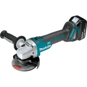 A picture of MAKITA XAG04T Cut-Off/Angle Grinder, an example of the best cordless angle grinder