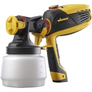 An image of Wagner Spraytech 0529010 FLEXiO 590 Handheld HVLP Paint Sprayer, another efficient unit among the best cordless paint sprayer you can add to your tool collection