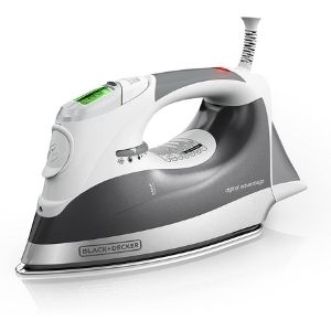 An image of Oliso TG1100 Smart Iron with iTouch Technology, another efficient and easy to use model among the best cordless iron for quilting
