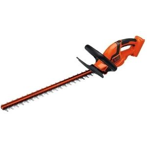 An image of BLACK+DECKER 36V MAX, one of the most powerful best cordless hedge trimmer models