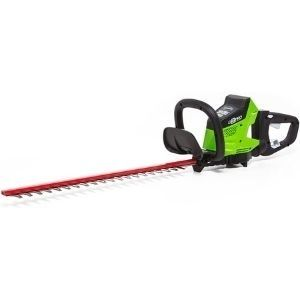 Greenworks 24-Inch 40V, another desirable unit among the best cordless hedge trimmer you need to add in your tool collection
