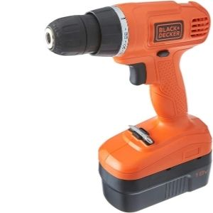 An image of BLACK+DECKER GC1801 18-Volt Drill/Driver, an example of the best cordless drill under $150