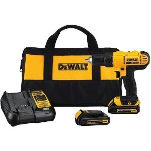 An image of DEWALT 20V MAX Cordless Drill, an example of the best 20v cordless drill